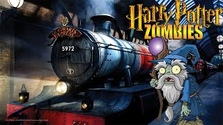 The Great Wizard Zombie War at Harry Potter's Platform 9 3/4 (Call of Duty Zombies Map)