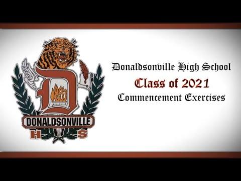 Donaldsonville High School 2021 Commencement
