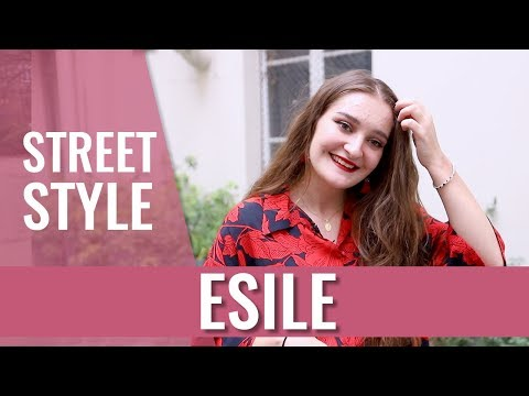 STREET STYLE — Esile et son flow inimitable!