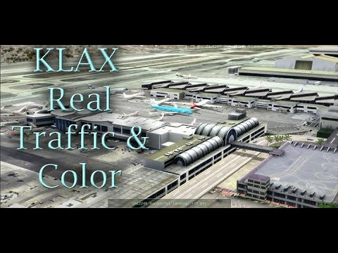 Tower!3D Pro - KLAX - Real Traffic & Color