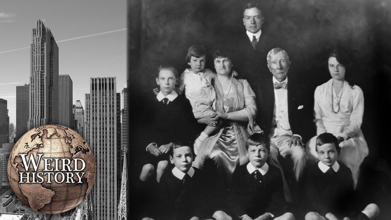 The Dark History Of The Rockefeller Family Exposed - YouTube