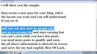 how to create a blog and earn through a blog without investing..