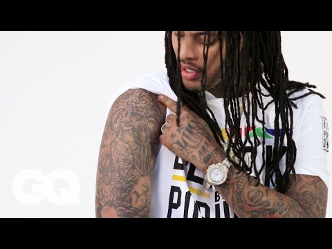 Waka Flocka Flame Breaks Down His Tattoos | Tattoo Tour | GQ