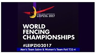 World Fencing Championships Leipzig Day04 Team Competition thumbnail