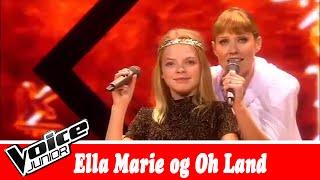 Ella Marie og Oh Land synger  The Bangles – 'Walk Like an Egyptian' – Voice Junior   Finale