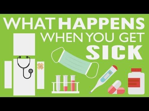 WHAT HAPPENS WHEN WE GET SICK?