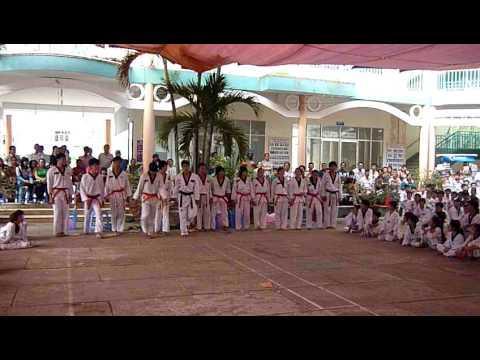 Bieu dien taekwondo dance soc trang
