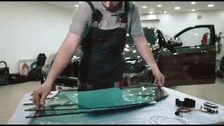 Установка электро тонировки на BMW