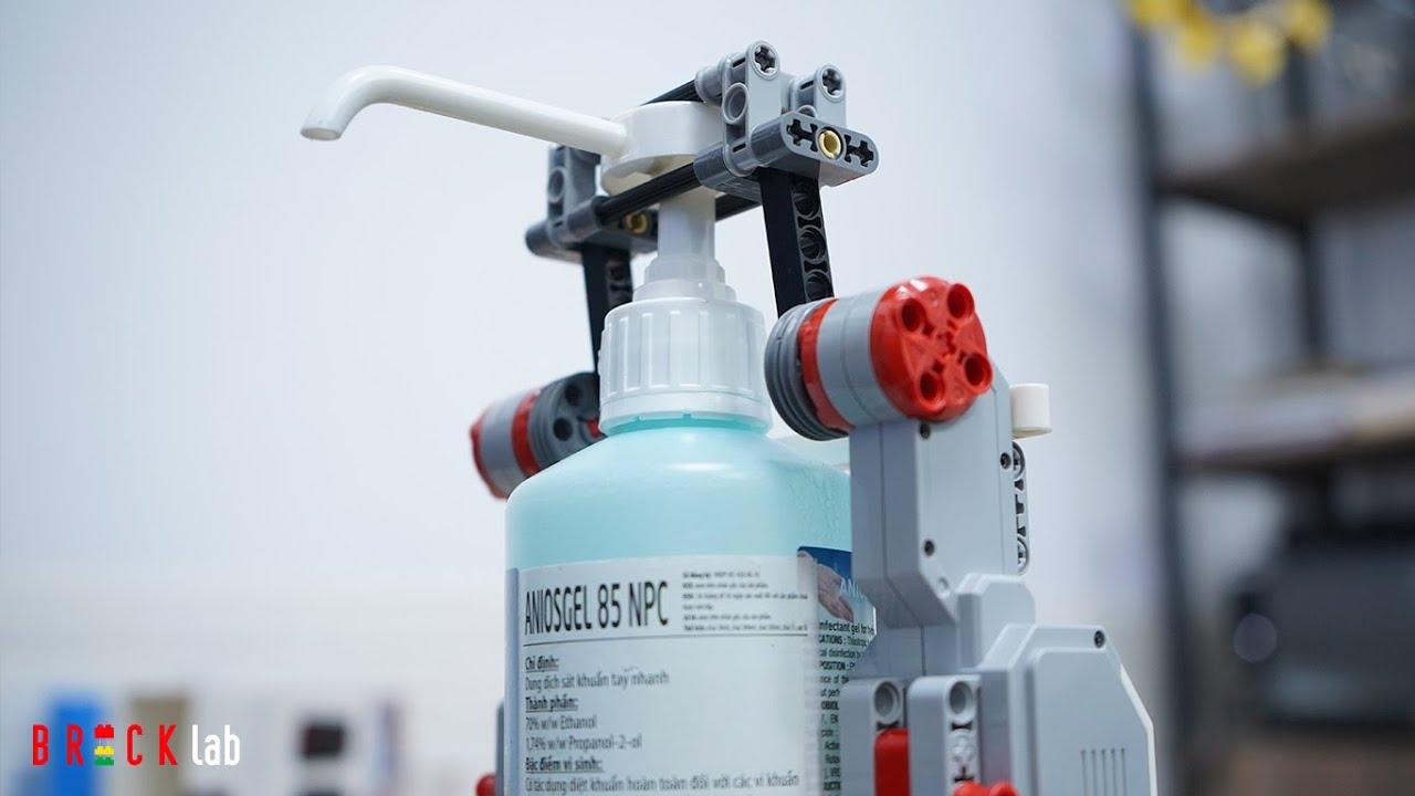 CHẾ TẠO MÁY RỬA TAY BẰNG ROBOT LEGO – HƯỚNG DẪN LẮP RÁP & LẬP TRÌNH \ BRICK lab