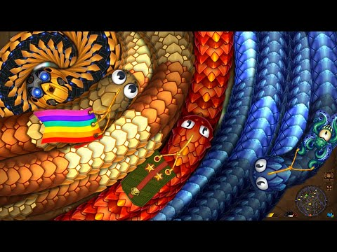 Littlebigsnake.io 001 Biggest Snakes Trolling Party Ever /Pro Never Mess Epic Littlebigsnakeio !