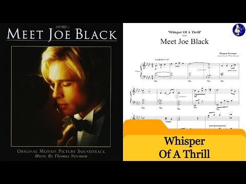 Meet Joe Black Piano   Whisper Of A Thrill  Thomas Newman