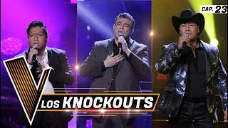 Los Knockouts: Alejandro Fuentes, Lalo Fuentes, Nieves Loaiza | Programa 23 | La Voz México YouTube Videos