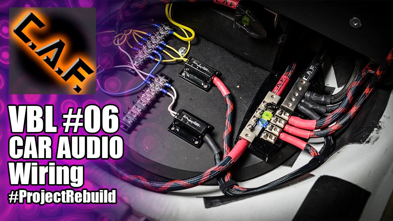 car audio wiring vbl 6 caraudiofabrication youtube rh youtube com Car Audio Installation Wiring Car Audio Amp Wiring