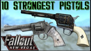 10 STRONGEST PISTOLS (Non-Energy) in Fallout: New Vegas - Caedo's Countdowns