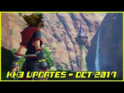 Kingdom Hearts III News Update - October 2017