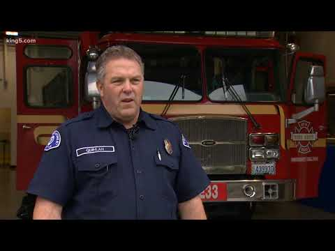 Seattle firefighter honored as hero after rescuing man from burning truck