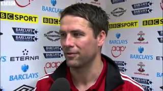 Michael Owen's Emotional Final Farewell Interview - Southampton 1-1 Stoke