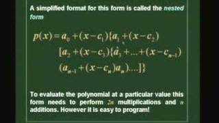 Lecture 9 - Polynomial Interpolation-2