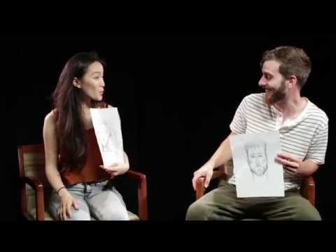 Thumbnail: Couples Describe Each Other To A Police Sketch Artist