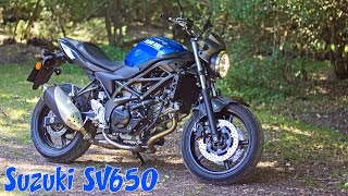 New Suzuki SV650 2016 honest review(, 2016-08-25T11:40:02.000Z)