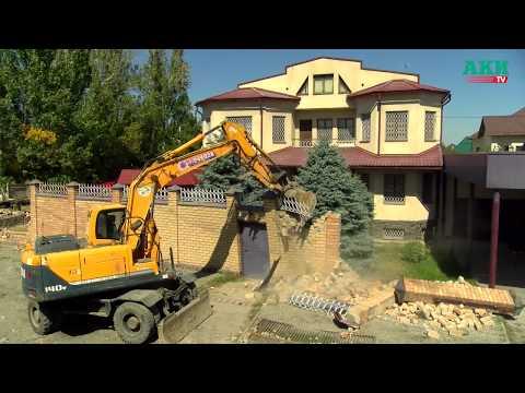 В Бишкеке снесли