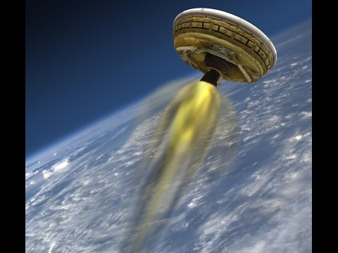 NASA Flying Saucer Test -  initial launch LDSD (low-density supersonic decelerator)