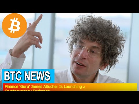 BTC News - Finance 'Guru' James Altucher Is Launching a Cryptocurrency Exchange