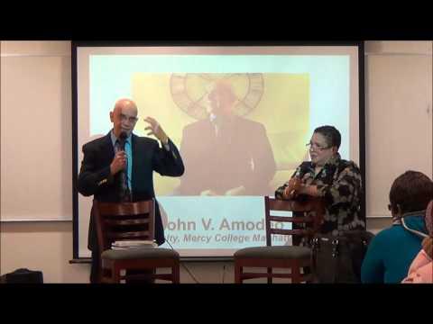 National Novel Writing Month at Mercy College Manhattan: John V. Amodeo Q&A