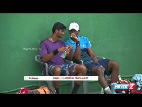 ITF Tennis tournament begins in Chennai   Tamil Nadu   News7 Tamil