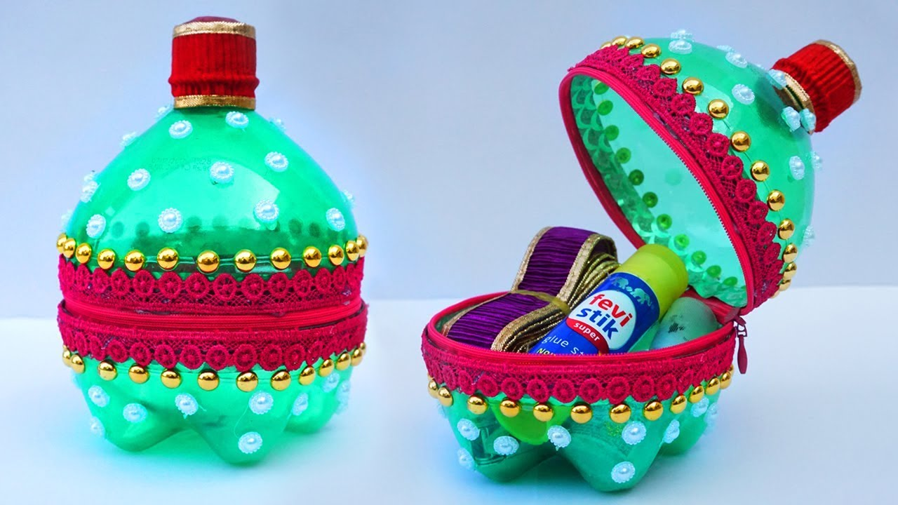 Amazing idea from plastic bottle easy best out of waste for Craft using waste bottles