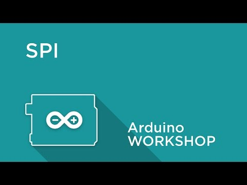 Arduino Workshop - Chapter 5 - Using SPI