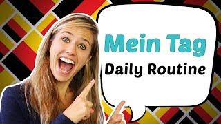 GERMAN LESSON 51: Tagesablauf / Daily Routine in German !