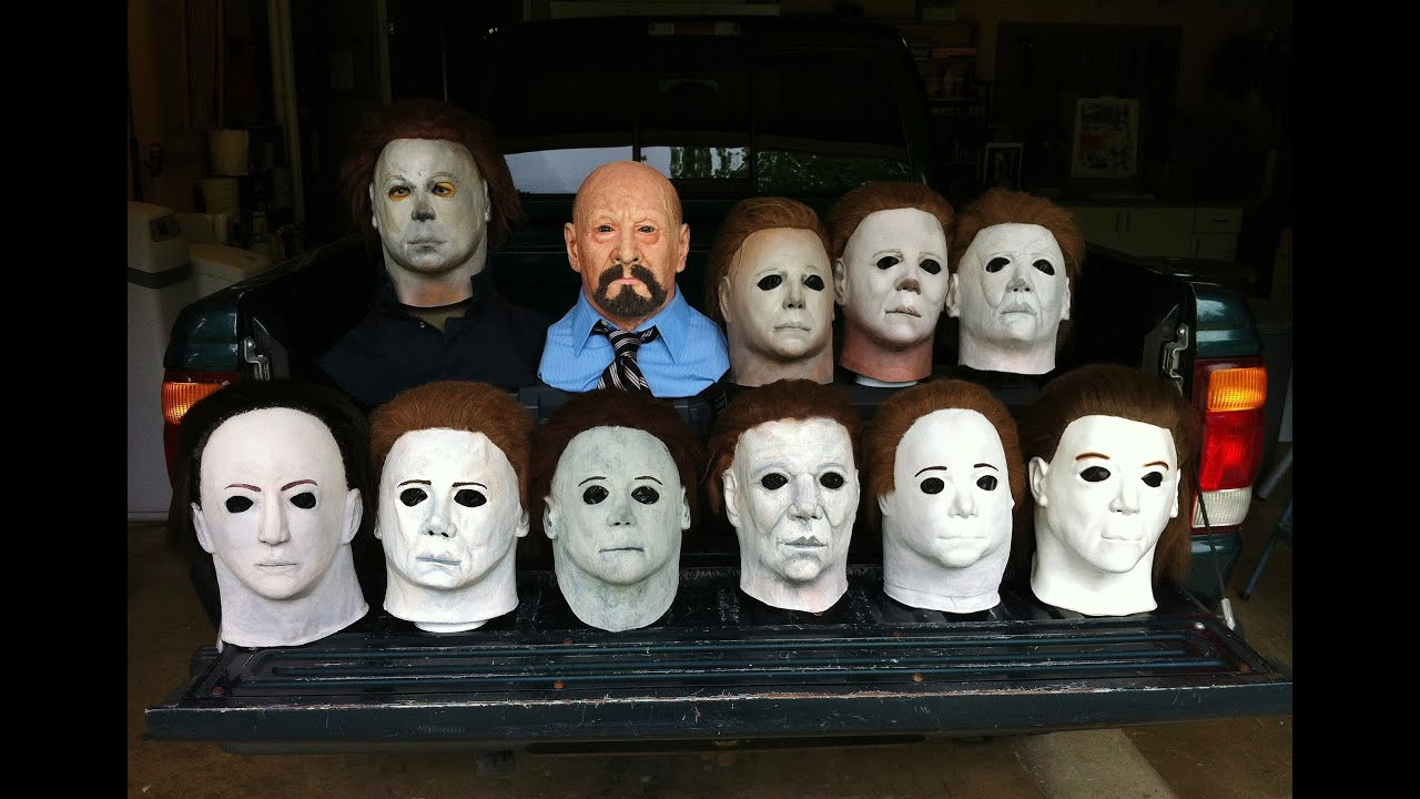 Halloween mask collection 2014 by john r pleak youtube for Make your own halloween mask online