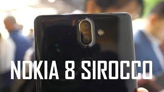 Nokia 8 Sirocco #hands-on