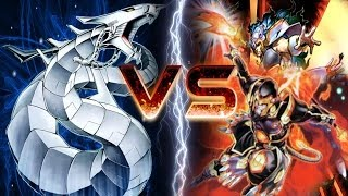 Yugioh Duel - Cyber Dragon Vs Fire Fist (Intense Duel!) [2014 Banlist]