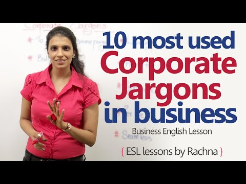 10 most used Corporate Jargons in the business world – Business English Lesson