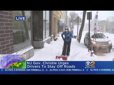 Digging Out In Montclair, NJ
