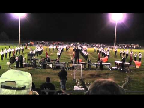 NWR Marching Band - October 16, 2010 -