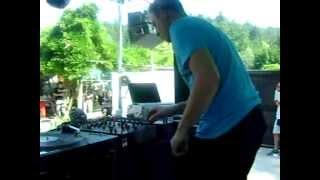 New live mix video DJ NiTEVISION NV @ Techno Piknik w/ Patrick DSP (Club Pržan, Ljubljana SLO), 2013