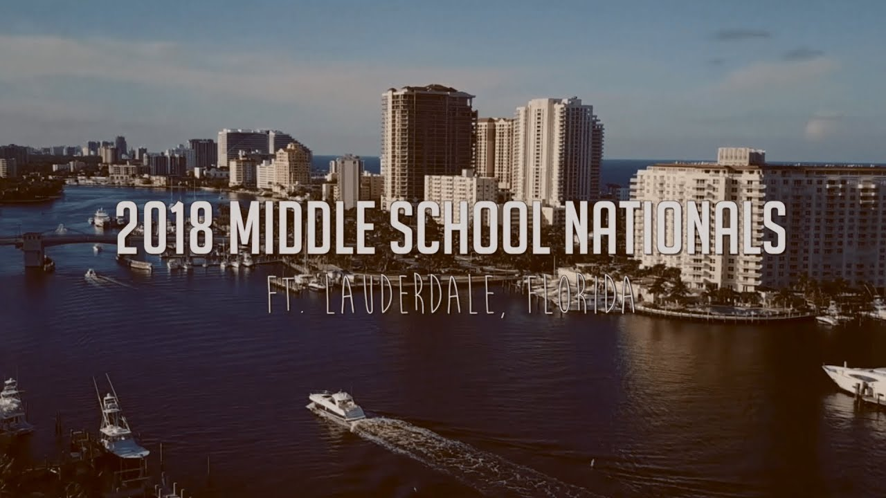 Middle School Video - NSDA Nationals 2018