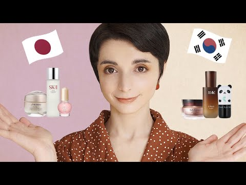 J-Beauty vs K-Beauty: a professional reveals the REAL differences between Japanese and Korean beauty - YouTube
