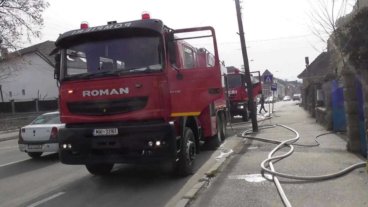 Incendiu la o casă din Turda (08.03.2019)