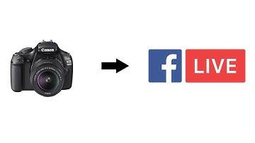 Facebook Livestream mit DSLR Filmkamera für 0 Euro