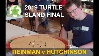 Crokinole 2019 New York Final - Hutchinson v Reinman