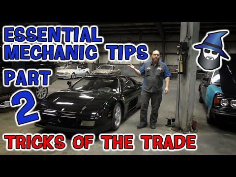 Part 2: The CAR WIZARD shares 10 Crazy Easy and Essential Mechanic Tips for the Serious Mechanic