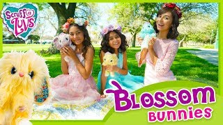 Blossom Bunnies - Scruff a Luvs - Easter Toy Unboxing // GEM Sisters