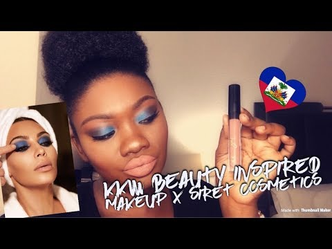 KKW X Mario Makeup Inspired feat Siret Cosmetics Lipstick: Chit Chat in Creole/English