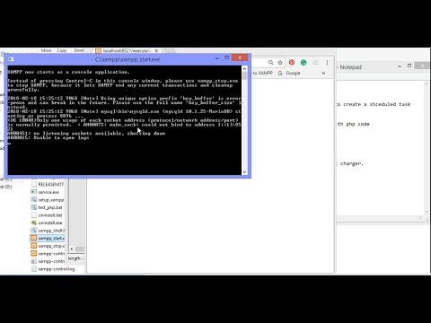 run exe file with php code,create scheduled task,running exe with batch file and phpcode TechiesTime