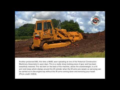 Let's Make A Big Loader – The Caterpillar 983 loader
