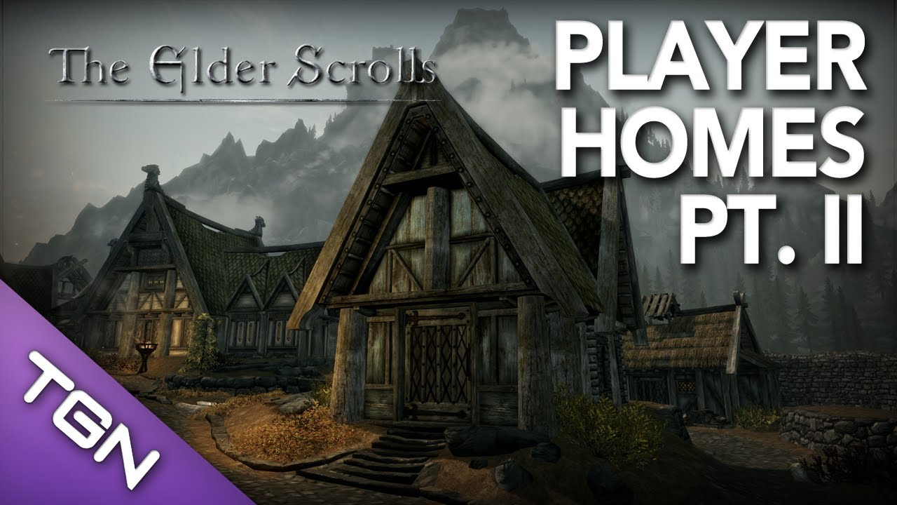 Skyrim mod library best player homes mods pt 2 for Best house designs skyrim
